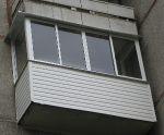 Остекление балконов и лоджий г. Новосибирск